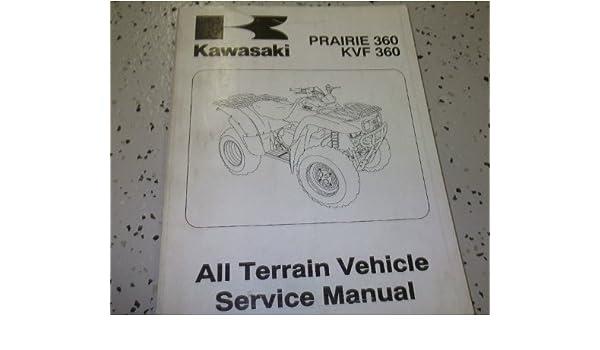 kawasaki kvf 360 prairie service repair manual 2003