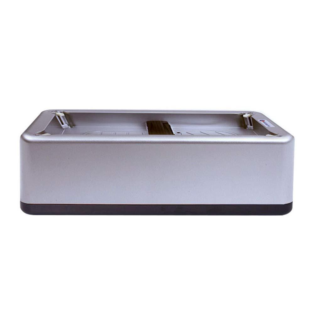 QFFL 靴カバーマシン自動フットマシンフットフィルムフットマシン使い捨て靴カバーボックス3色利用可能420 * 210 * 120 mm/クリーニングブラシ (色 : シルバー しるば゜, サイズ さいず : 100) B074X6YK75 シルバー しるば゜ 100