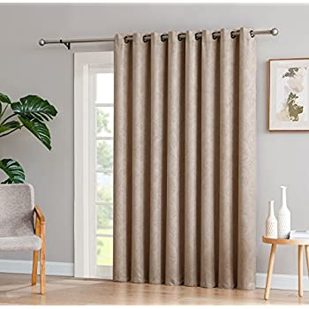 Amazon Com Linenzone Evelyn 1 Patio Extra Wide Curtain