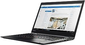 """Lenovo ThinkPad X1 Yoga 2nd Gen 20JD0015US 14"""" FHD (1920 x 1080) IPS Touchscreen Display 2-in-1 Ultrabook - Intel Core i5-7200U Processor, 8GB RAM, 256GB PCIe SSD, Windows 10 Pro"""