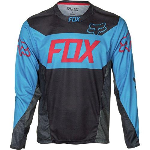 Fox Racing Demo Bike Jersey - Long Sleeve - Men's Device Black/Blue, M