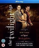The Twilight Saga Collection - 4-Disc Box Set ( Twilight / The Twilight Saga: New Moon / The Twilight Saga: Eclipse / The Twilight Saga: Brea [ NON-USA FORMAT, Blu-Ray, Reg.B Import - United Kingdom ]