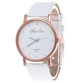 d7cd969317ec9d Amazon   Goenn レディース腕時計 シンプル カジュアル ビジネス 人気 ユニセックス レザーバンド ウォッチ   腕時計   腕時計 通販