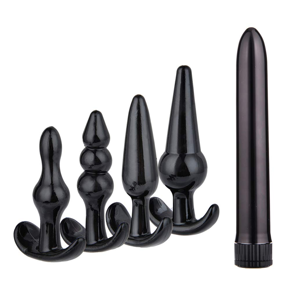 Gothing 5PCS Multi-Type Ví-bratórs B-Ü'T'T Plug BDSM Adùlt Games Six Toys Kit for Couples