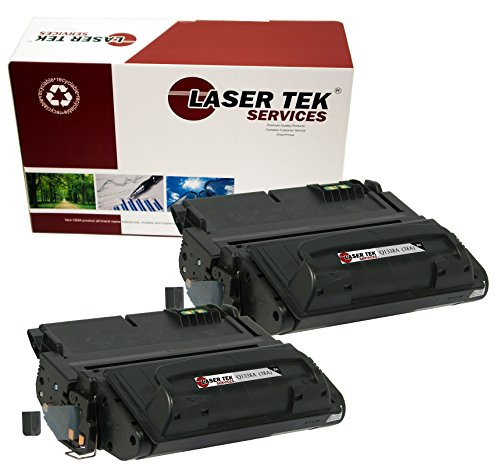 Laser Tek Services Compatible Toner Cartridge Replacement for HP Q1338A (Black , 2-Pack)