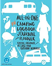 All in One RV Camping Logbook, Journal, and Planner: Create, Organize, and Record Your Outdoor Memories in your RV!