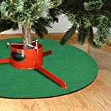 YEAHOME Reversible Christmas Tree Stand Mat for