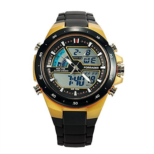 Price comparison product image SKMEI 1016 New Sports Watch Silicone 50M Waterproof Light Digital