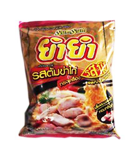 [Yum Yum Instant Flat Shaped Noodles Tom Kha Kai Song Krueng Flavour Set 2] (Ramen Noodle Costumes)
