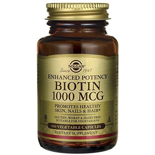Solgar Biotin 1000 Vegetable Capsules product image