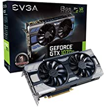 EVGA GeForce GTX 1070 Ti FTW2 GAMING, 8GB GDDR5, iCX Technology - 9 Thermal Sensors & RGB LED G/P/M, Asynch Fan, Optimized Airflow Graphics Card 08G-P4-6775-KR