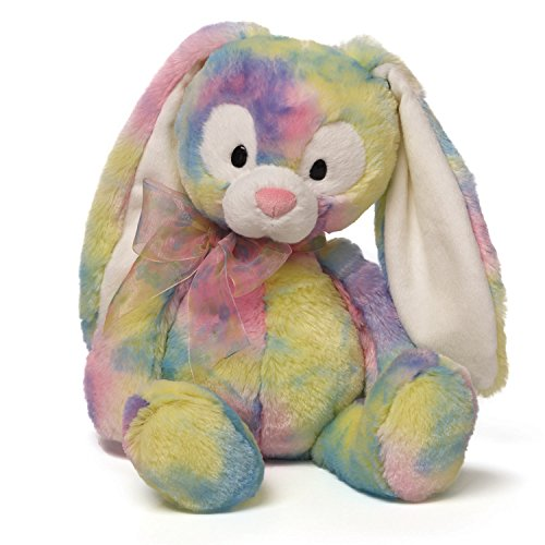 Gund Easter Splatter Color Patch Floppy Eared Bunny