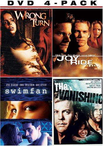 Thriller Giftset (Wrong Turn / Joy Ride / Swimfan / The Vanishing) (Set Dvd Turn Wrong)