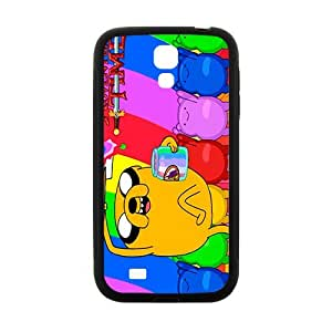 QQQO Aadventure time Case Cover For samsung galaxy S4 Case hjbrhga1544
