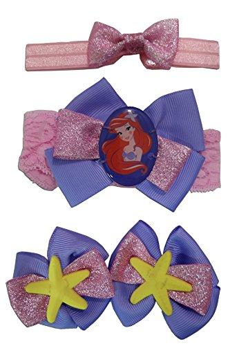 Disney Princess Ariel Hair Set (Pink Hair Disney Character)