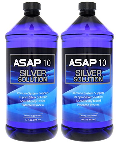 American Biotech Labs ASAP 10 PPM Silver Sol Immune System Support 64oz