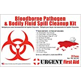 21 Piece Bodily Fluid Clean Up Pack/Bloodborne