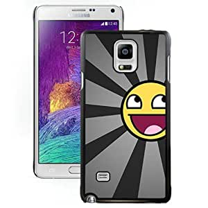 Popular Samsung Galaxy Note 4 Cover Case ,Funny Xperia Z Wallpapers HD 145 Black Samsung Galaxy Note 4 Phone Case Fashion And Unique Design Cover Case