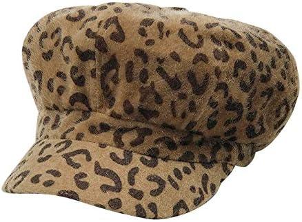 DOCILA Leopard Newsboy Hats...