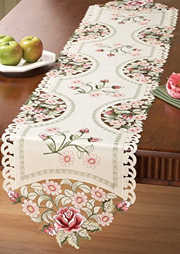 Embroidered Decorative Table Linens Runner