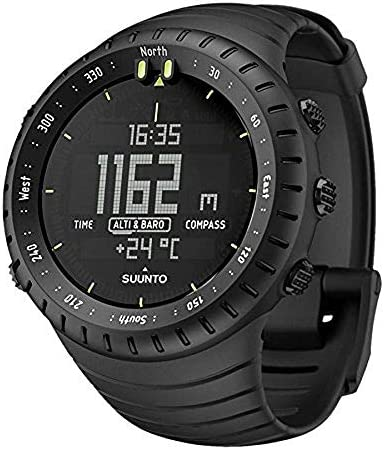 SUUNTO Core All Black military men's outdoor sports watch – SS014279010
