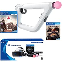 PlayStation Bravo Team Deluxe Bundle (4 Items): PlayStation VR Skyrim Bundle, PSVR Bravo Team Game, PSVR Farpoint Game and PSVR Aim Controller