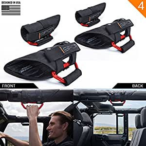 Amazon.com: GPCA GP-Grip PRO Grab Handle for Jeep Wrangler ...