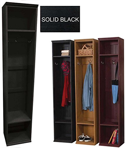 Cheap Sawdust City Mudroom Storage Locker (Solid – Black)