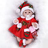 Decdeal NPK Silicone Realistic Baby Doll Play House Game Toys Christmas Gift 16inch