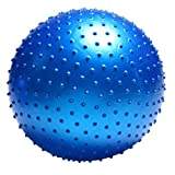 FLBTY Massage Yoga Ball Trigger Point Yoga Ball Fitness Pilates Ball,Blue,65Cm