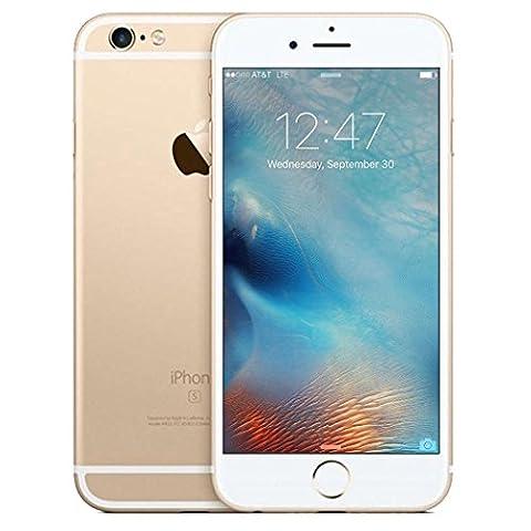 Apple iPhone 6s 16/64/128GB(GSM Unlocked)US Version iOS Smartphone (Refurbished) (gold-64GB) (Nextel Phone Touchscreen)