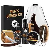 MayBeau Beard Kit for Men Set of 10 Beard Growth Grooming & Trimming