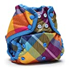 Rumparooz One Size Cloth Diaper Cover Snap, Preppy
