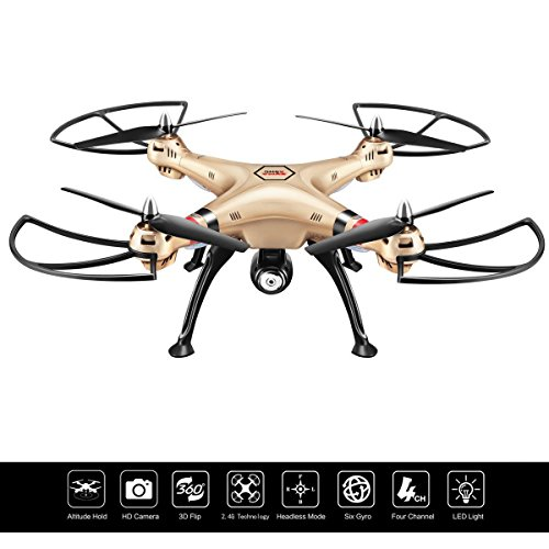 Costzon Syma X8HC 2.4G 4CH 6-Axis Gyro RC...