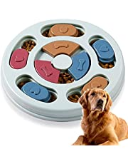 Dog Puzzle Toy Interactive Puppy Puzzle Game Smart Dog Puppy Puzzle Toy IQ Stimulation Puppy Puzzle for Puppy Training and Slow Feeder cat Obesity Prevention (Blue)