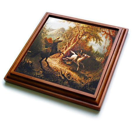3drose-trv-36406-1-headless-horseman-pursuing-ichabod-crane-painting-trivet-with-ceramic-tile-8-by-8