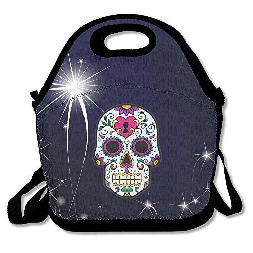 Maggie Salas Azúcar Cráneo Primavera Almuerzo Bolsas Bolsas de viaje bolsa de almacenamiento de picnic mochila bolso