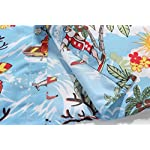 SSLR-Mens-Santa-Claus-Party-Tropical-Ugly-Hawaiian-Christmas-Shirts