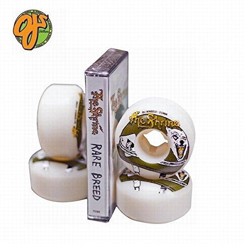 面白いお母さん注釈を付けるOJ WHEELS The Shrine EZ Edge カセットテープ付 スケート ウィール 101a/ 55mm