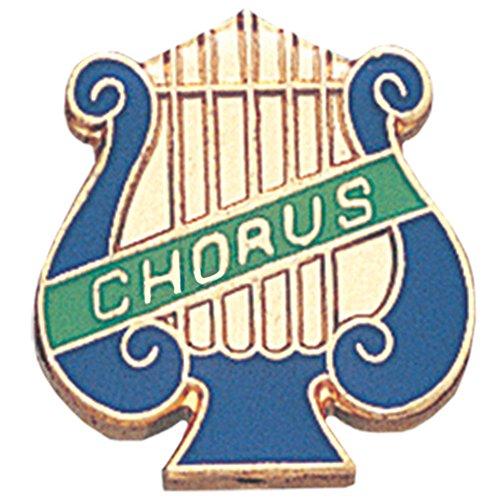 Terra Sancta Guild Music Lyre Chorus Lapel Pin