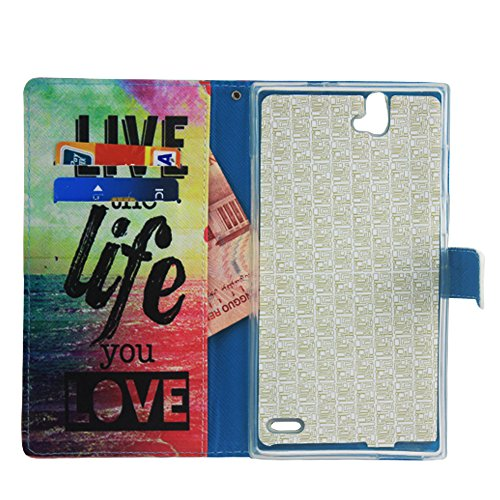 ZTE Warp Elite Case, ZTE Warp Elite Wallet Case, Harryshell (TM) Folio PU Leather Flip Case Cover with Credit Card Slot and Wrist Strap for ZTE Warp Elite N9518 (Boost Mobile) Photo #4