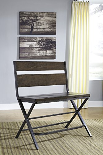 FurnitureMaxx Kavara Medium Brown Color Double Barstool