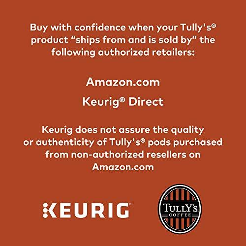 Tully's Coffee, Italian Roast, Single-Serve Keurig K-Cup Pods, Dark Roast Coffee, 72 Count (3 Boxes of 24 Pods) by Keurig (Image #5)