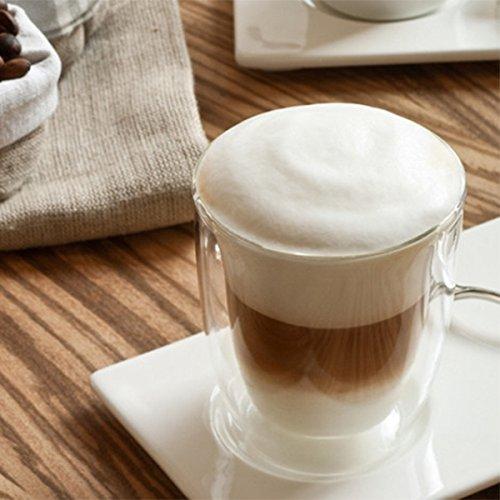 Espumador de Leche - Mini batidora emulsionadora para leche (21 cm, pilas) MS-3089 - COLOR VERDE: Amazon.es: Hogar