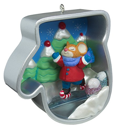 (Hallmark Keepsake Ornament Ice Skating Mouse Cookie Cutter Christmas 2016 )
