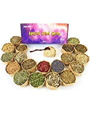 Witchcraft Supplies Herbs for Witchcraft - Dried Herb Kit for Wicca, Pagan and Wiccan Rituals, Altar Supplies, Magic Spells - 20 Witch Herbs with Wooden Spoon