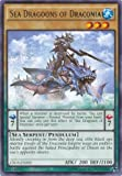 Yu-Gi-Oh! - Sea Dragoons of Draconia (CROS-EN000) - Crossed Souls - Unlimited Edition - Rare