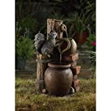 Jeco Multi-Tier Pots Indoor/Outdoor Fountain Review