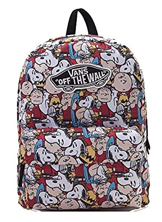 Amazon.com | Vans X Peanuts Gang Realm Backpack | Casual Daypacks