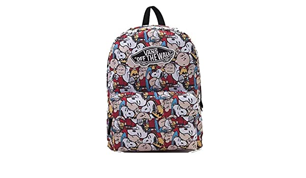 Amazon.com | Vans X Peanuts Gang Realm Backpack | Casual ...